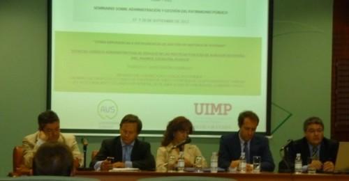 uimp,avs promotores públicos de suelo y vivienda,seminario gestión y administracion patrimonio publico